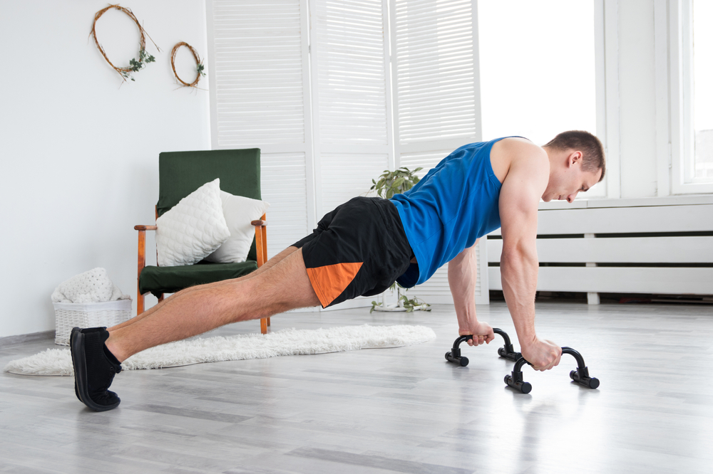 pompes pour renforcer sa ceinture abdominale